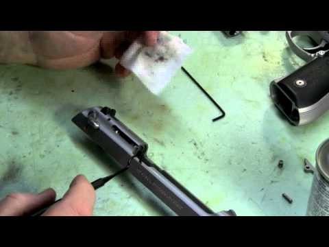 Beretta 92 extractor maintenance