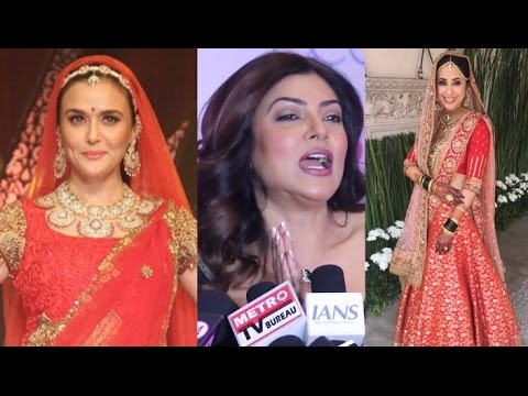 Sushmita Sen Congratulates Preity Zinta And Urmila Matondkar's Marriage