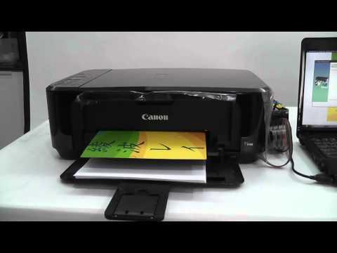 วิธีการเติมหมึกติดตั้ง inktank damper Canon E500.mp4 โดยคอมพิวท์