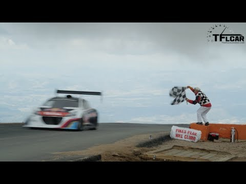 Watch Sebatien Loeb smash the Pikes Peak International Hill Climb Record