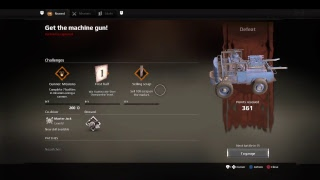 Starting new games. Crossout ps4