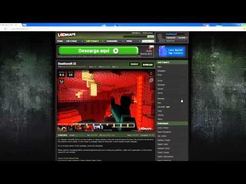 Descargar e instalar DeathCraft2 (Minecraft+Left4Dead 2)
