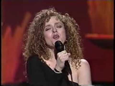 Bernadette Peters Tonight Show 1991, part 2