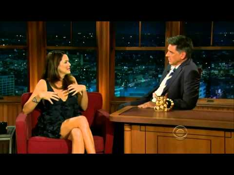 Jacinda Barrett on Craig Ferguson HD