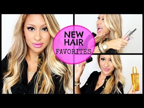 New Hair! Faves! Makeup-swatches!