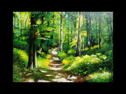 Painting Forest Forest Landscapes Paintings