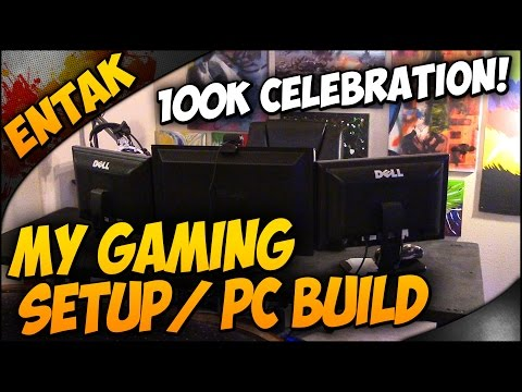 Gaming PC Build - My Gaming Setup! [100k Subscriber Celebration]