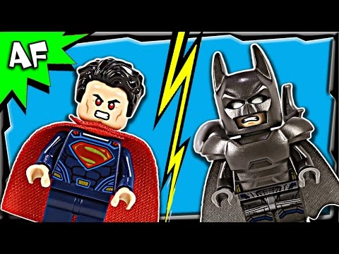 Lego Batman V Superman CLASH OF HEROES 76044 Stop Motion Build Review