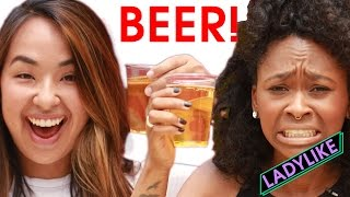 Women Learn How To Chug Beer • Ladylike