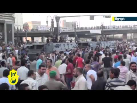 Egyptian security moves on mosque as pro-Morsi demonstrations erupt in Israel