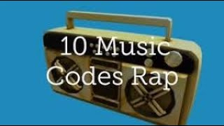 10 Music Codes (ROBLOX)