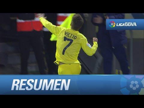 Resumen de Villarreal CF (1-0) SD Eibar