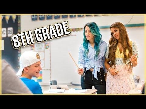 TWINS TRY Teaching 8th Grade