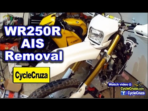 WR250R AIS Removal DIY - Why Remove AIS and What it Does