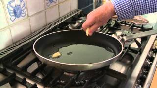 Rick Stein shows how to prepare Dover Sole