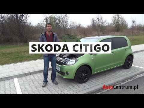 [PL] Skoda Citigo 5d 1.0 75 KM, 2013 - test AutoCentrum.pl