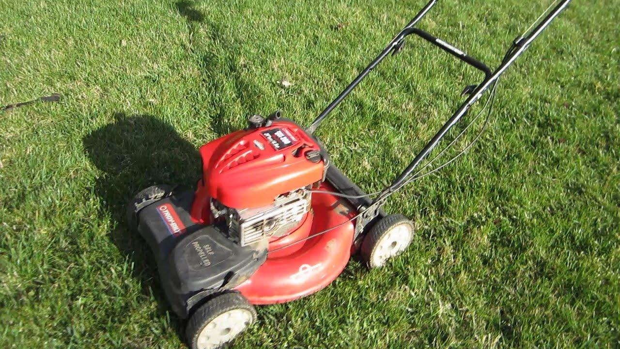 Troy Bilt Broken Craigslist Find It Started Lawn Mower