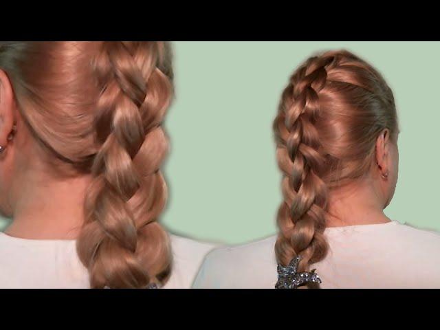 Современные плетения на длинные волосы. Фото №8