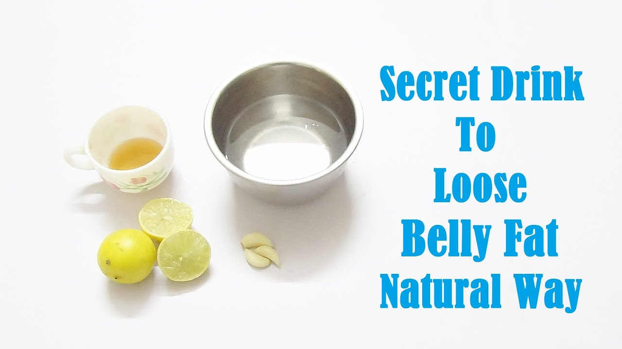 Secret Drink to lose Belly Fat Natural Way!!! - YouTube