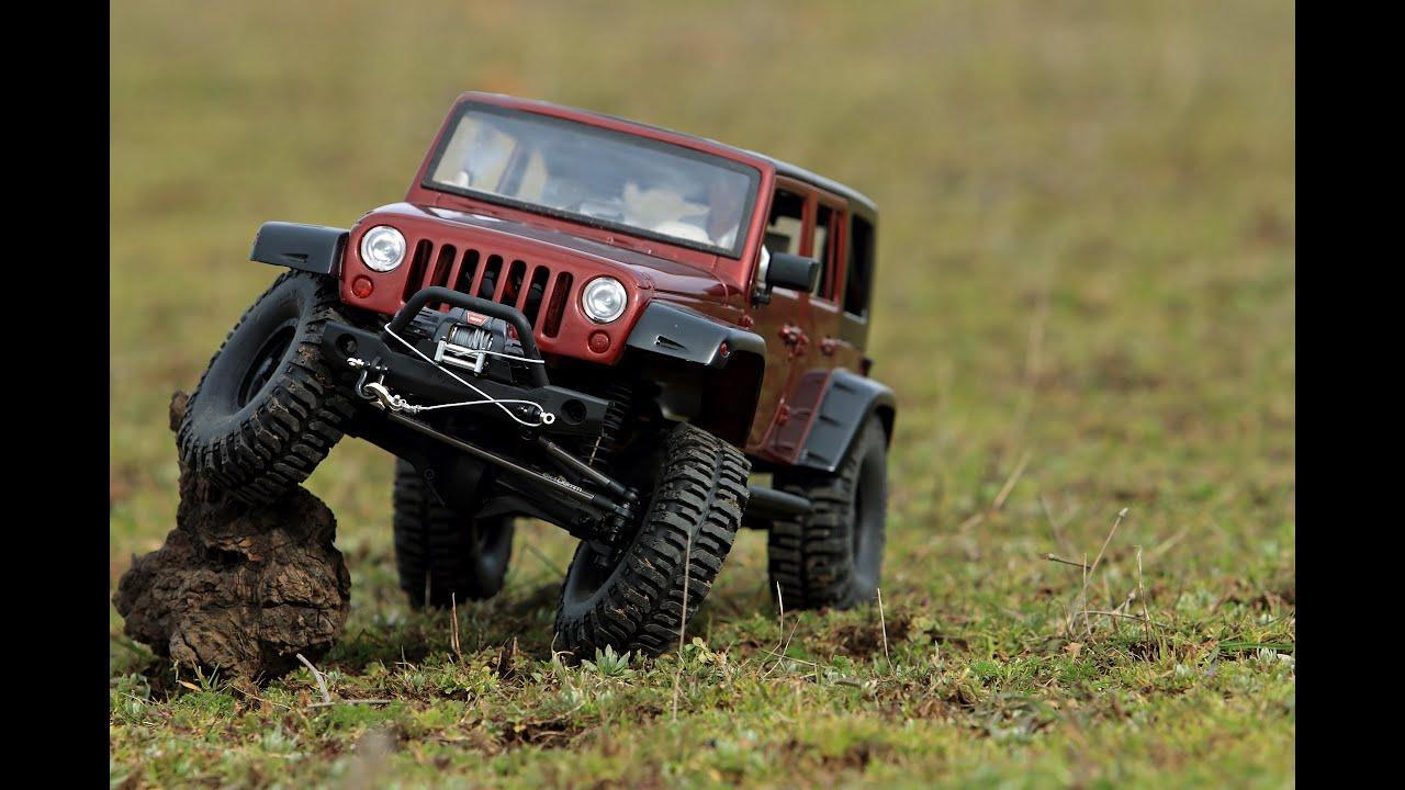 Jeep Rubicon Vs Defender Scale Rock Crawler Expedition