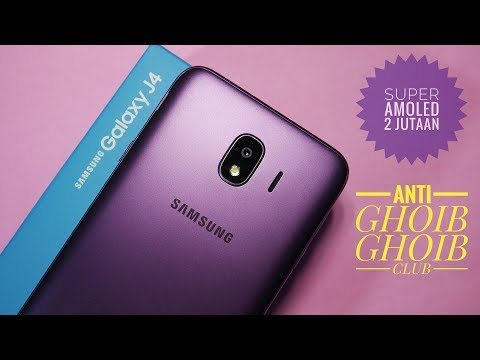 Samsung Galaxy J4 Purple Resmi Unboxing Indonesia