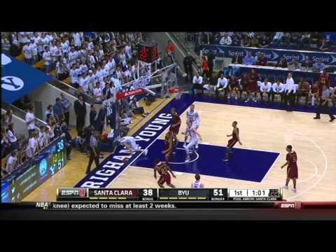 Jerry Brown Highlight Film Santa Clara Basketball 2014
