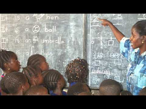 Makeni School for underprivileged and disabled children in Africa