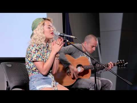 Rita Ora - LIVE Acoustic Set at Wichita Area Technical College
