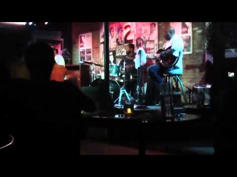 Little John Rogers soloing with Ike Stubblefield and Friends Bamboo Room 2/11/12