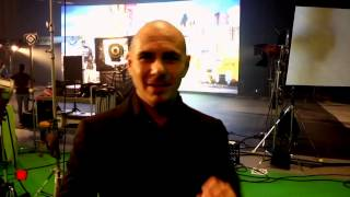 Pitbull International Love Behind the Scenes