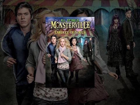 R.L. Stines Monsterville. Cabinet of Souls