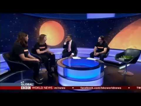 BBC World News, Live with #LettuceOnMars
