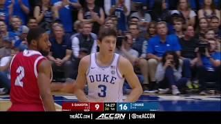 South Dakota vs Duke College Basketball Condensed Game 2017