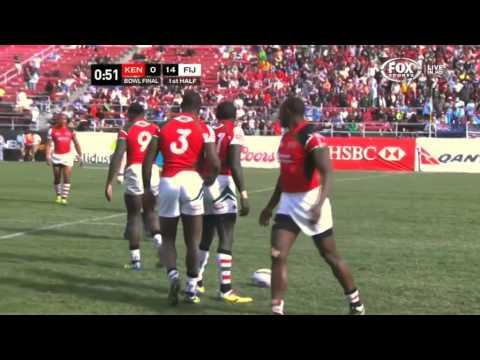2014 - World Series 7s - Kenya v Fiji - Las Vegas 2013 14 - R04 - Bowl Final