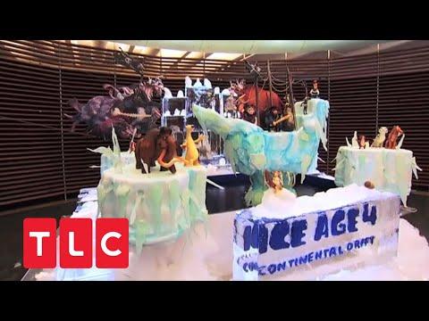 Cake Boss Ice Cream Cake Cake Boss | Ice Age-torte
