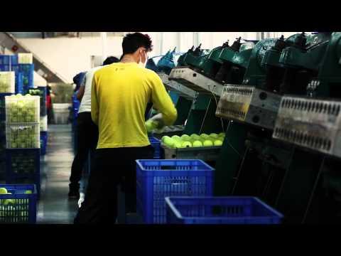 Fabrication Balle de Tennis la Fabrication D'une Balle