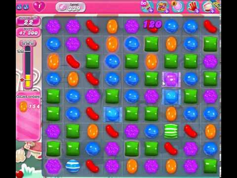 How to beat Candy Crush Saga Level 339 - 2 Stars - No Boosters - 150