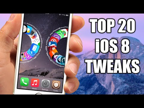 TOP 20 Cydia Tweaks Compatible With iOS 8 - 8.1 Jailbreak