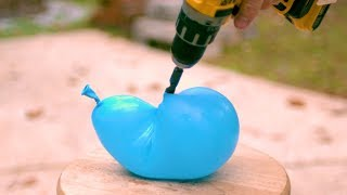 Water Balloons Look AMAZING in Slow Motion!