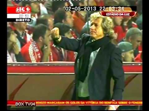 Benfica vs Fenerbahçe. Jorge Jesus