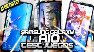 EL SAMSUNG GALAXY A10 | REVIEW DE JUEGOS | EXCELENTES GRÁFICOS.