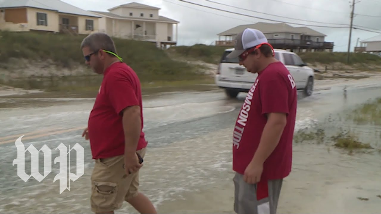 'It was just awful': Alabama residents cleanup after Tropical Storm Gordon