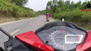 Winner 150 - Hành Trình - Nha Trang - Khánh Vỉnh - Đèo Khánh Lê