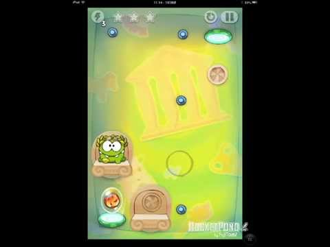 Cut the Rope Time Travel 5-11 Ancient Greece Walkthrough