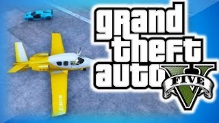 GTA 5 Online Funny Moments 21 - Banana Plane, Vestra Stunts, Turismo R Jumps, and Business DLC Fun!