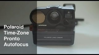 Polaroid Time-Zone Pronto Autofocus Camera