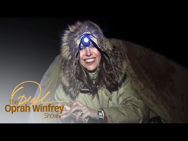 Soap Star Finola Hughes Braves the Great Outdoors | The Oprah Winfrey Show | Oprah Winfrey Network