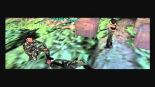 "Syphon Filter 3: (HD) Walkthrough Mission 2 ""Costa Rican Rainforest: Hidden Plantation!"" (Part 1)"