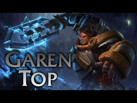 League of Legends | Steel Legion Garen Top - Full Game Commentary