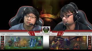 TNC Predator vs TNC Tigers   BO3   Game 2   The International Southeast Asia Regional Qualifiers